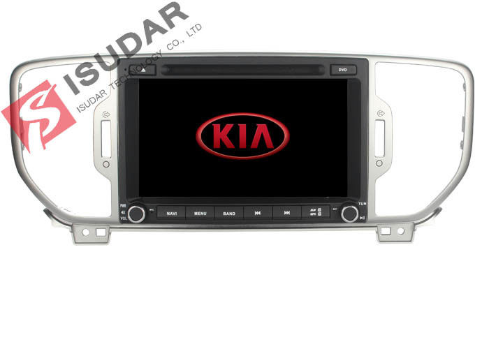 2G+16G Full Touch Screen Car Stereo With Gps And Backup Camera For Kia Sportage / KX5