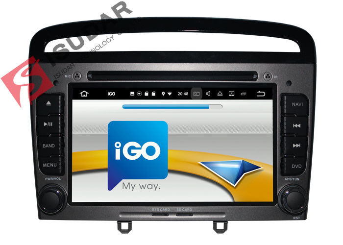 HMDI Output Double Din Dvd Car Stereo , Peugeot 408 / Peugeot 308 Dvd Player Built - In WIFI