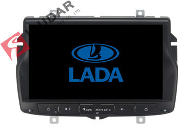 เมนูรัสเซีย Lada Vesta Android Gps Car Stereo, 2 Din Android Head Unit รองรับ TPMS